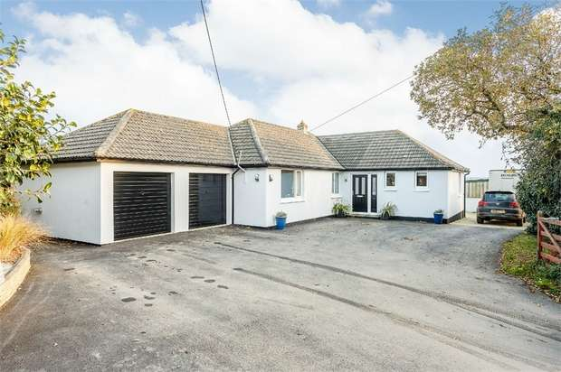 4 Bedrooms Detached Bungalow for sale in Ruan High Lanes, Ruan High Lanes, Truro, Cornwall
