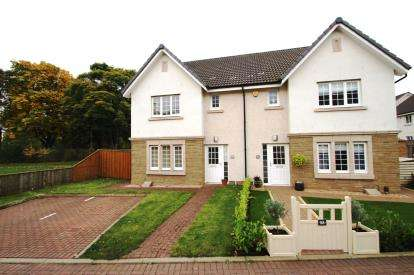 3 Bedrooms Semi Detached House for sale in Crown Cres, Larbert