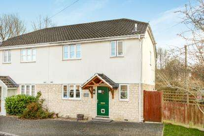 3 Bedrooms Semi Detached House for sale in Codford, Warminster, Wiltshire