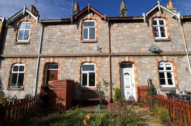 2 Bedrooms Terraced House for sale in Bossell Terrace, Buckfastleigh, Devon