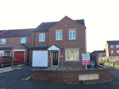 4 Bedrooms Detached House for sale in Friars Gate, Boston