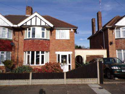 3 Bedrooms Semi Detached House for sale in Sedgebrook Road, Leicester, Leicestershire