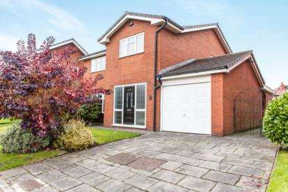 4 Bedrooms Detached House for sale in Wade Bank, Westhoughton, Bolton, Greater Manchester, BL5