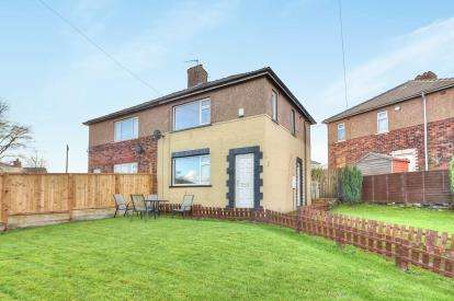 3 Bedrooms Semi Detached House for sale in Ryecroft Crescent, Halifax, West Yorkshire