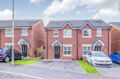 3 Bedrooms Semi Detached House for sale in Hawthorn Close, Shavington, Crewe, Cheshire