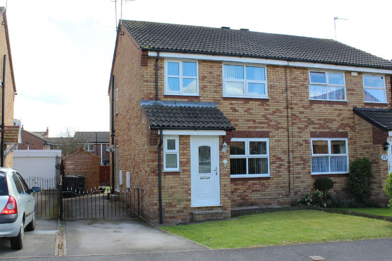 3 Bedrooms Semi Detached House for sale in Yew Tree Close, Selby