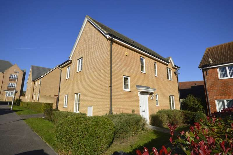 3 Bedrooms Detached House for rent in Rivenhall Way, Hoo, Rochester, ME3