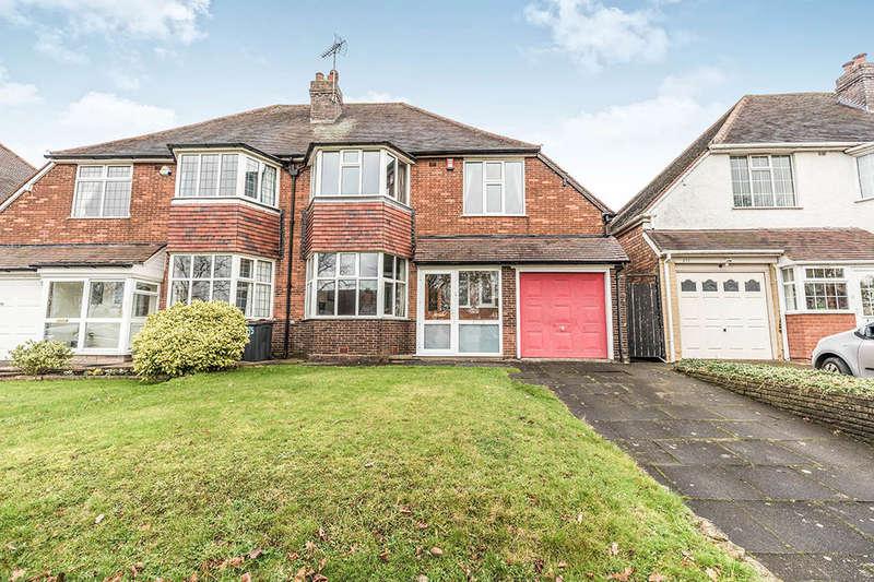 4 Bedrooms Semi Detached House for sale in Robin Hood Lane, Birmingham, B28