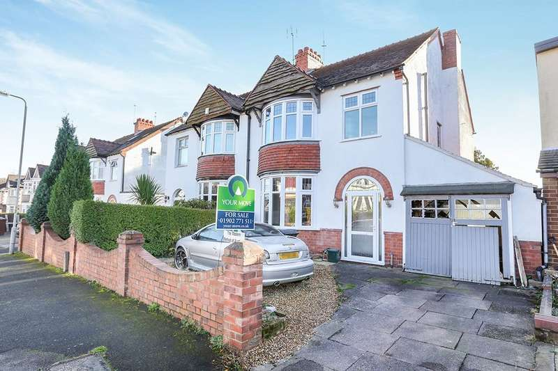 3 Bedrooms Semi Detached House for sale in Leighton Road, Wolverhampton, WV4