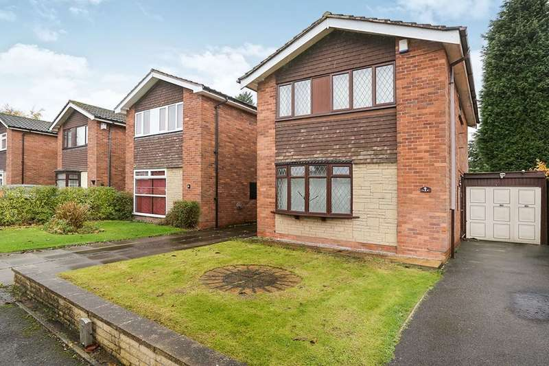 3 Bedrooms Detached House for sale in Deborah Close, Wolverhampton, WV2