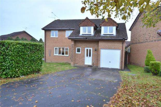 4 Bedrooms Detached House for sale in Mayflower Close, Chineham, Basingstoke