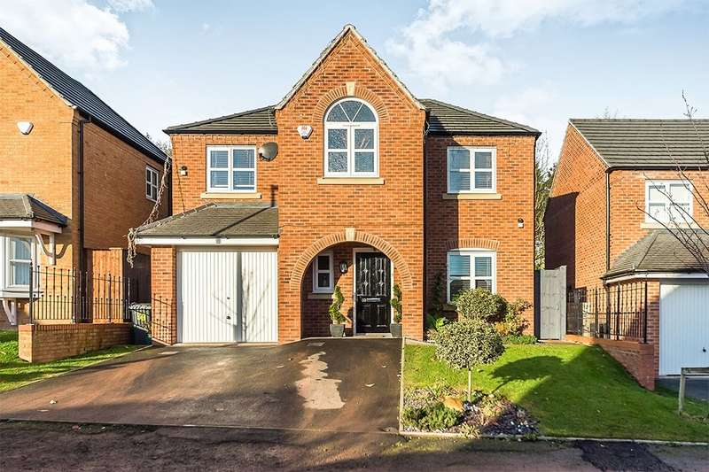 4 Bedrooms Detached House for sale in Bhullar Way, Tividale, Oldbury, B69