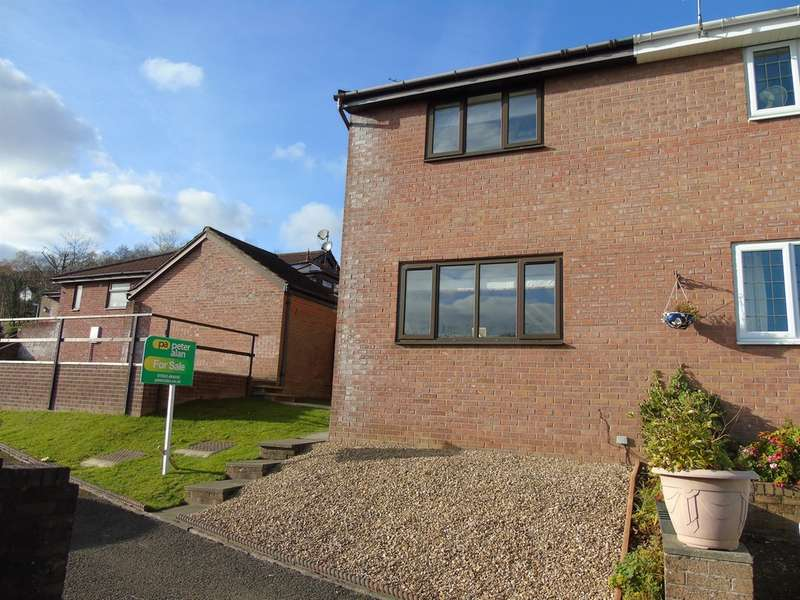 2 Bedrooms Semi Detached House for sale in Beechleigh Close, Greenmeadow, Cwmbran