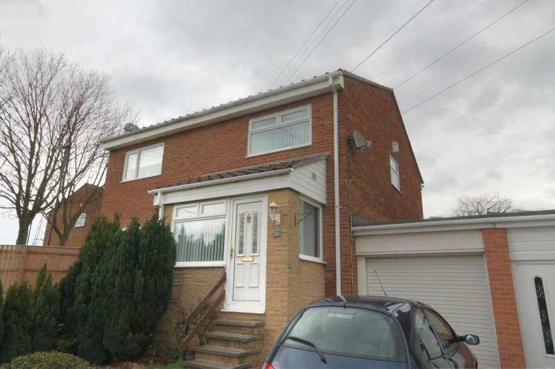 2 Bedrooms Semi Detached House for sale in Warenmill Close, West Denton Park, Newcastle Upon Tyne, NE15