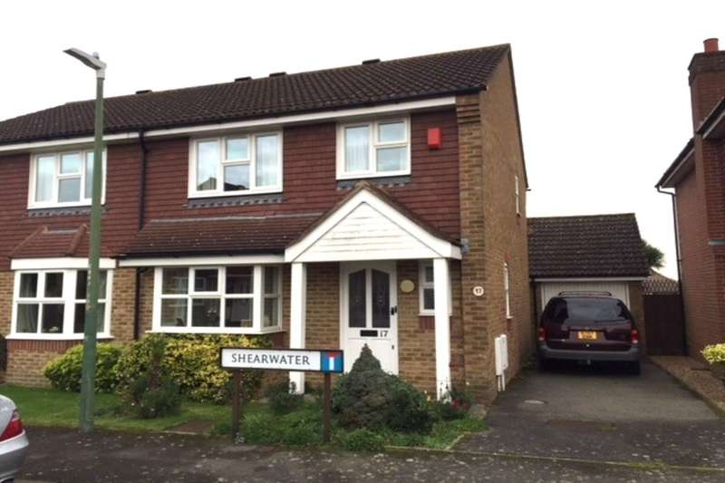 3 Bedrooms Semi Detached House for sale in Shearwater, Maidstone, ME16