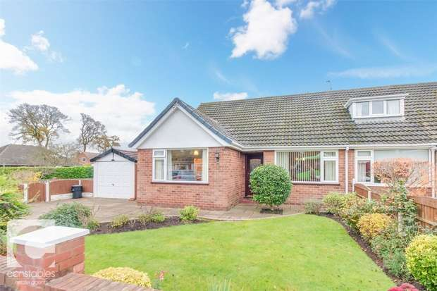 3 Bedrooms Semi Detached Bungalow for sale in Childer Crescent, Little Sutton, Ellesmere Port, Cheshire