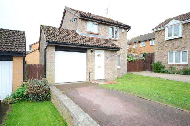 3 Bedrooms Detached House for sale in Beauchief Close, Lower Earley, Reading