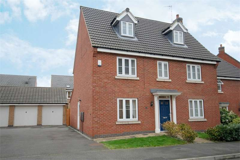 5 Bedrooms Detached House for sale in Crackthorne Drive, Coton Park, RUGBY, Warwickshire
