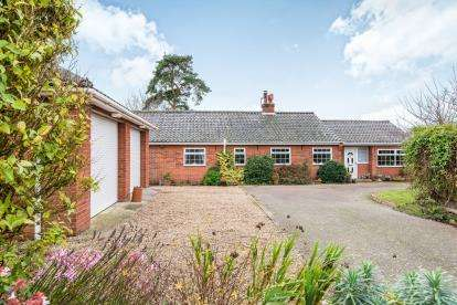 4 Bedrooms Bungalow for sale in Saxlingham Nethergate, Norwich, Norfolk