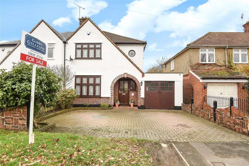 3 Bedrooms Semi Detached House for sale in Vine Lane, Hillingdon, Middlesex, UB10