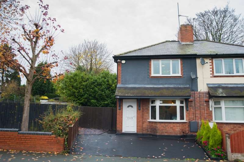 2 Bedrooms Semi Detached House for sale in Clarence Road, Bilston, West Midlands, WV14