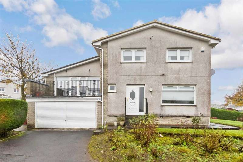 4 Bedrooms Detached House for sale in Findhorn Court, Gardenhall, EAST KILBRIDE