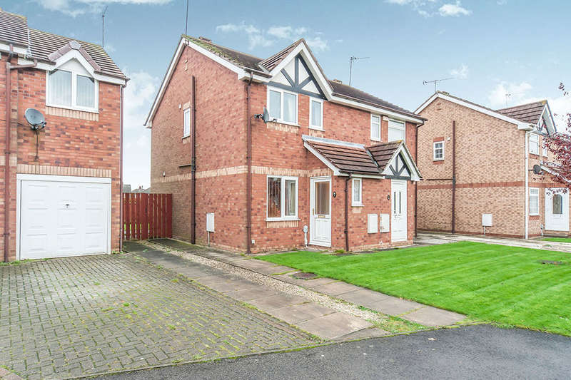 2 Bedrooms Semi Detached House for sale in Whitethorn Way, Hull, HU8