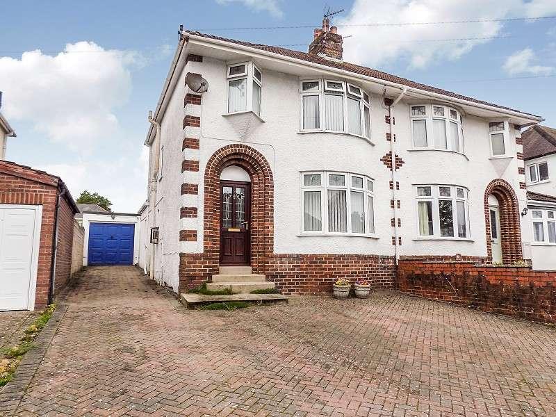 3 Bedrooms Semi Detached House for sale in Fairfield Road, Bridgend. CF31 3DT
