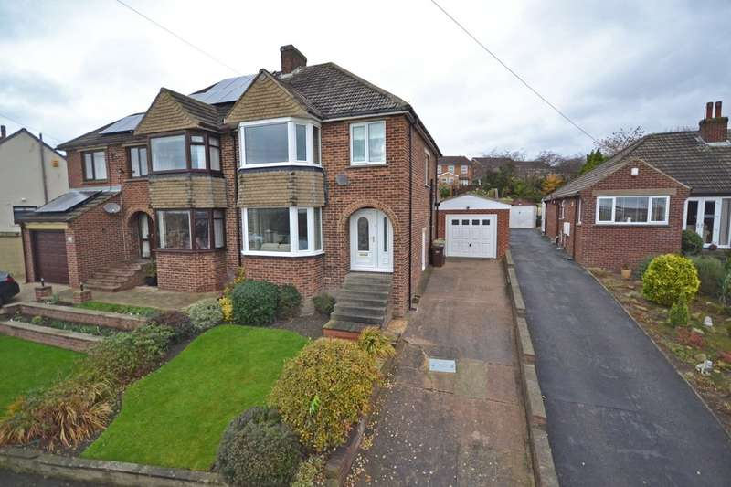 3 Bedrooms Semi Detached House for sale in Lindale Mount, Wrenthorpe, Wakefield