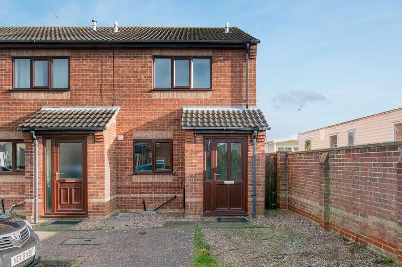 2 Bedrooms End Of Terrace House for sale in Hurrell Road, Caister-On-Sea
