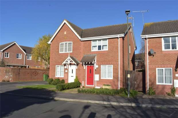 2 Bedrooms Semi Detached House for sale in Vine Way, Stonehills, Tewkesbury, Gloucestershire