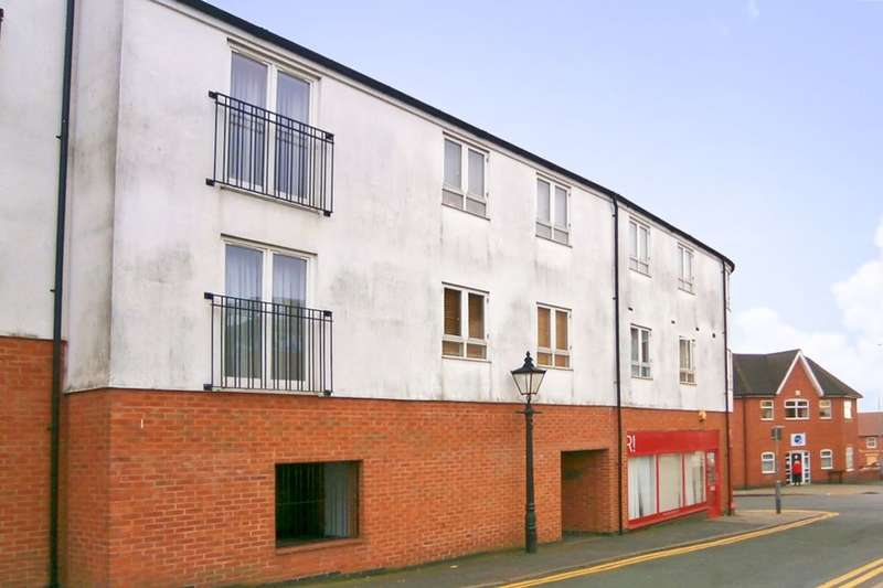 2 Bedrooms Flat for sale in Wood Street, Hinckley, LE10