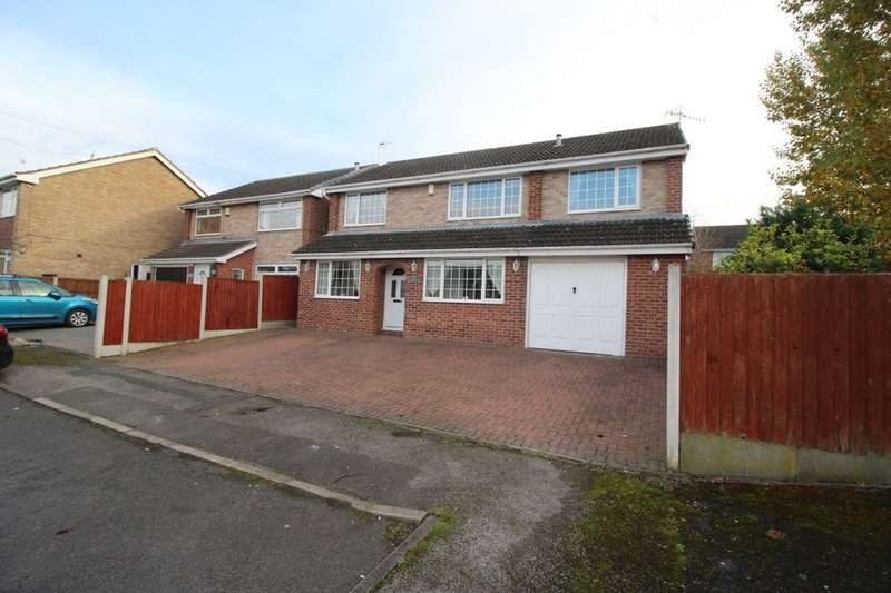 5 Bedrooms Detached House for sale in Hackworth Close, Newthorpe, Nottingham, NG16