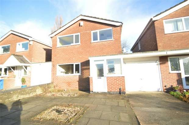 4 Bedrooms Detached House for sale in Withypool Drive, Mile End, Stockport, Cheshire