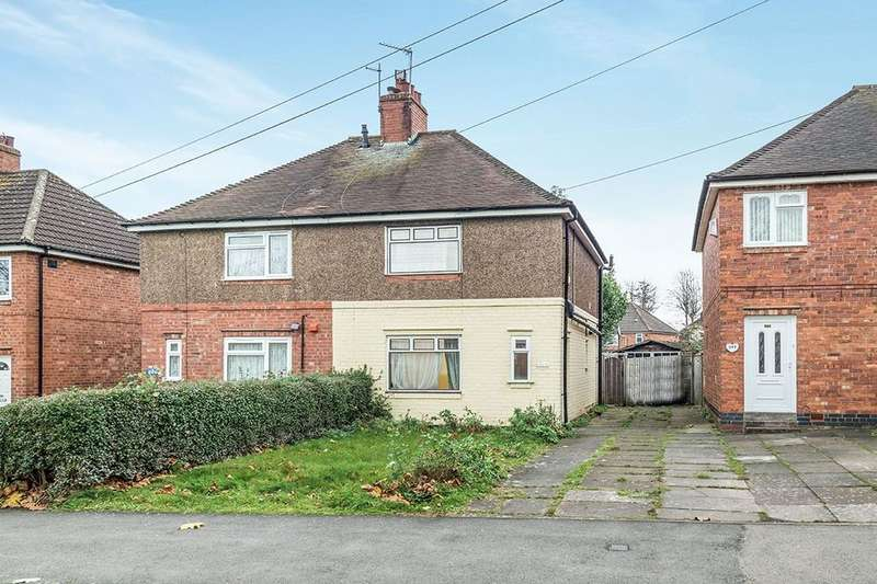 3 Bedrooms Semi Detached House for sale in Mitchell Avenue, Coventry, CV4