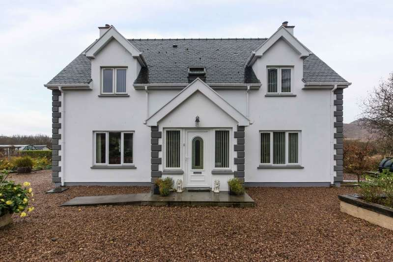 4 Bedrooms Detached House for sale in Pier Road, Kilchoan, Argyll, PH36 4LH