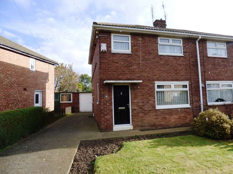 2 Bedrooms Semi Detached House for sale in Calder Grove, Redcar
