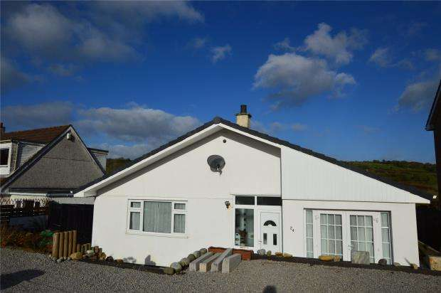 4 Bedrooms Detached Bungalow for sale in Trecarne View, St. Cleer, Liskeard, Cornwall