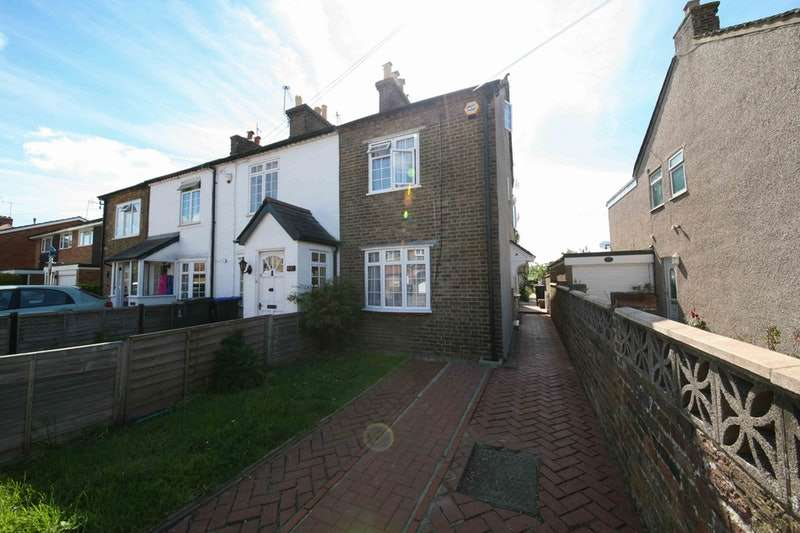 3 Bedrooms End Of Terrace House for sale in Newtown Road, Uxbridge, London, UB9