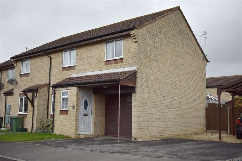 3 Bedrooms End Of Terrace House for sale in Partridge Close, Stonehouse, Gloucestershire