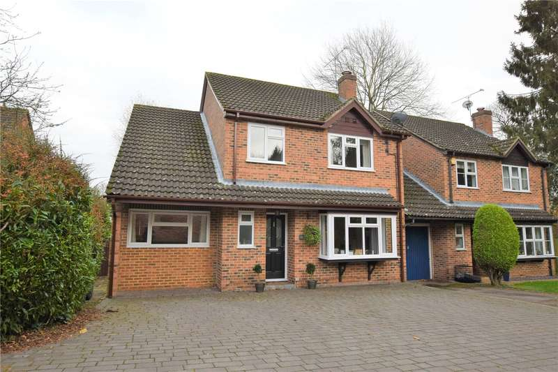 4 Bedrooms Link Detached House for sale in Hermits Close, Burghfield Common, Reading, RG7