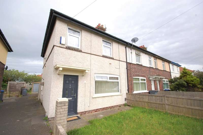 3 Bedrooms Semi Detached House for sale in Edgeway Road, Blackpool