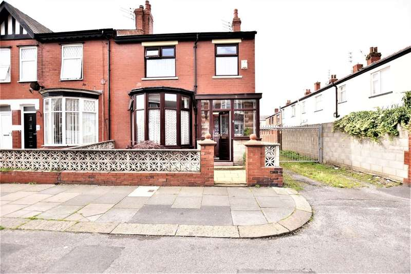 3 Bedrooms End Of Terrace House for sale in Wood Park Road, Blackpool