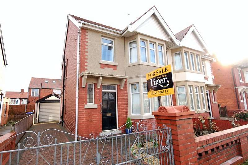 3 Bedrooms Semi Detached House for sale in Primrose Avenue, Blackpool