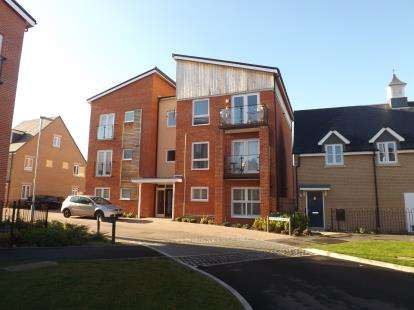 2 Bedrooms Flat for sale in Whittle Drive, Biggleswade, Bedfordshire