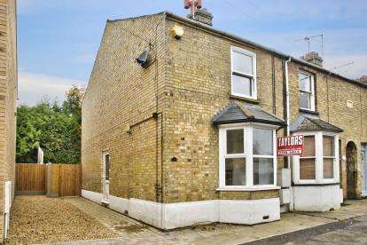 2 Bedrooms End Of Terrace House for sale in Roscrea Terrace, Huntingdon, Cambridgeshire