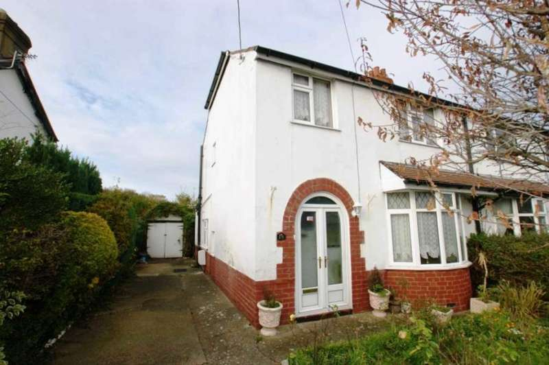 3 Bedrooms Semi Detached House for sale in Upper River Bank, Bagillt, Flintshire. CH6 6JL