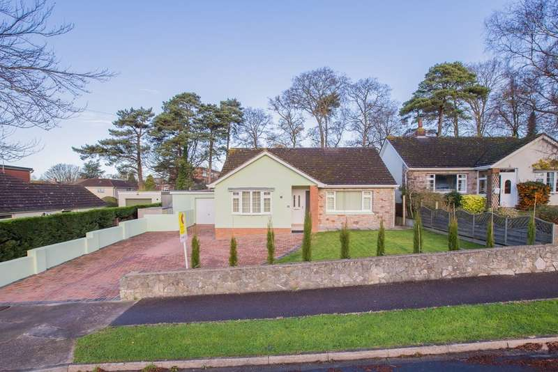 3 Bedrooms Detached Bungalow for sale in The Copse, Twickenham Road, Newton Abbot