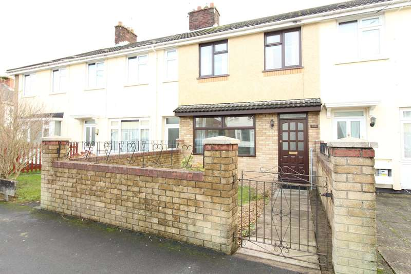 3 Bedrooms Terraced House for sale in Maesglas Crescent, Newport, NP20