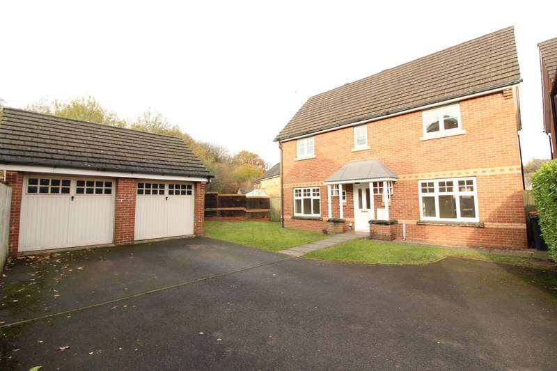 4 Bedrooms Detached House for sale in Daffodil Lane, Rogerstone, Newport, NP10